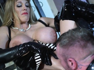 Blonde Domination Fetish Wife