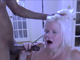 LACEYSTARR - BBC double team mill on edacious granny