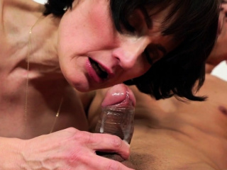 Fingered mature woman