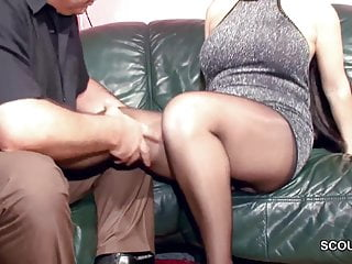 Hairy German MILF in Nylon succeed in Constant Fuck and Cum On