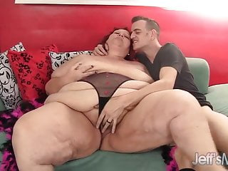 Redhead mature hustler Charming Cheaks gets fucked hard.