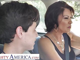 Naughty America Mrs. Fuller (Vanessa Videl) teaches Juan on the other hand