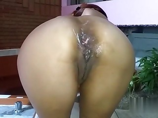 Anal fisting wife 5