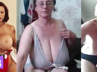 Huge MILF Tits, Jerk Off Challenge To The Beat #7