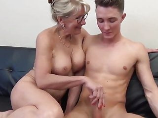Remarkable MILF with Big Bosom Gets Fucked by Teen