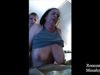 Lustful Grandma Refused to let Young Cock Pull out