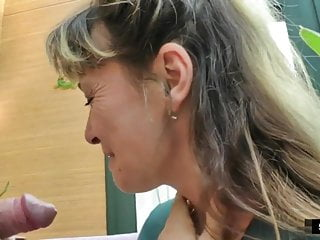 58yo Melodie takes two cocks